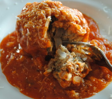 porcupine balls with vodka sauce