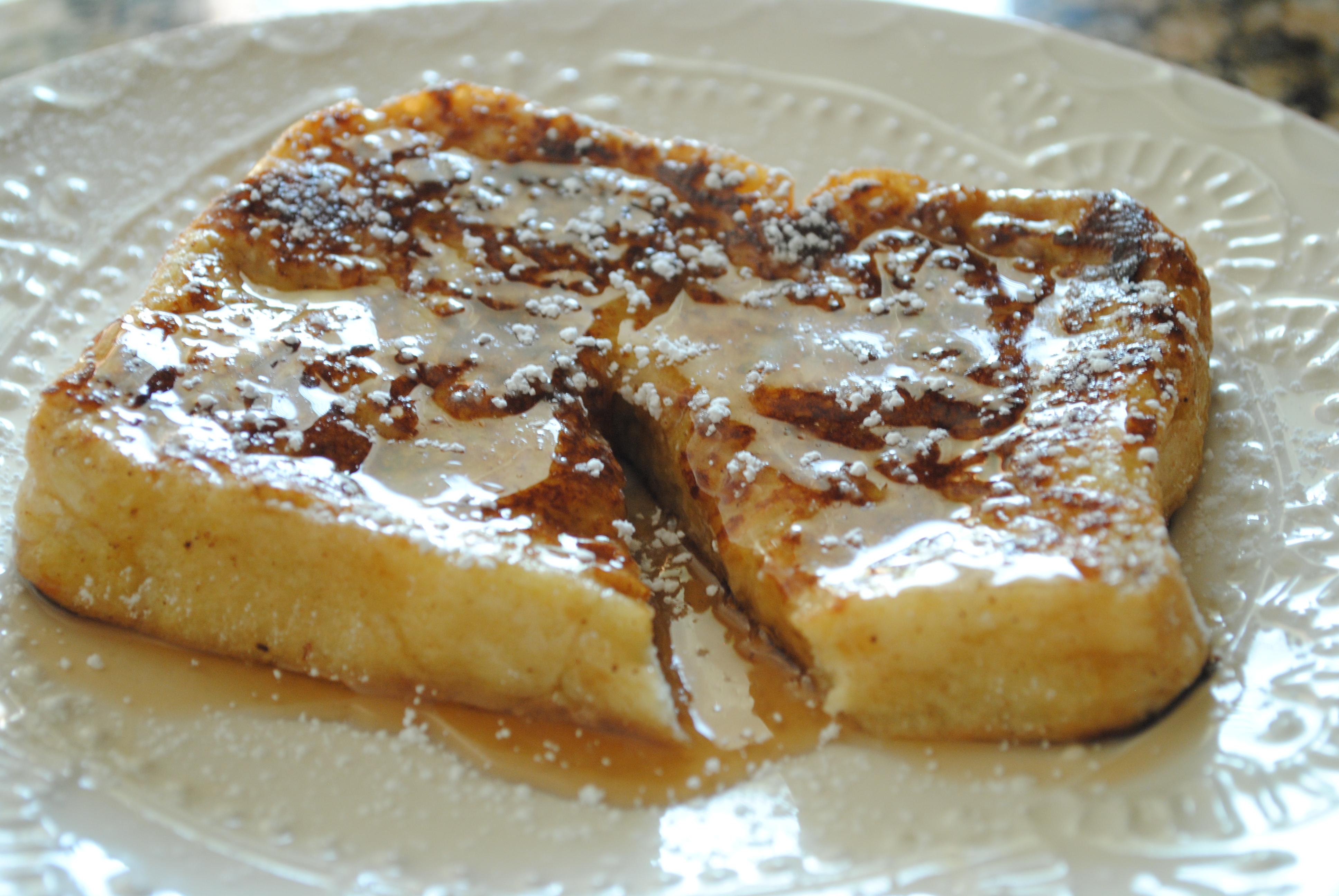 Challah French Toast - Mediterranean BabyMediterranean ...