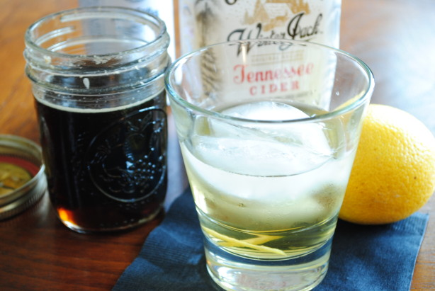 Maple Cider Twist on the Rocks