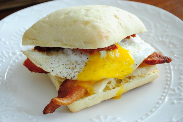 Weekend Breakfast Sandwich