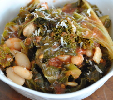 Kale Greens and Beans