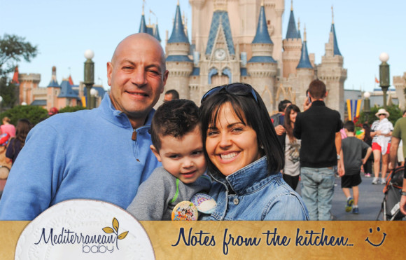 notes from the kitchen_mediterranean baby Disney Family