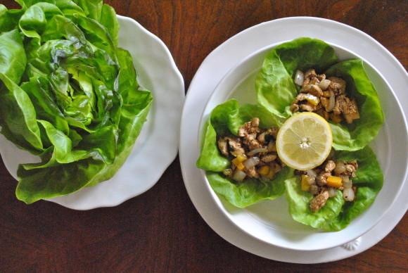 Chicken Lettuce Wraps Mediterranean Baby (3)