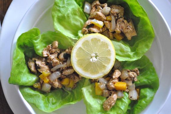 Chicken Lettuce Wraps Mediterranean Baby (4)