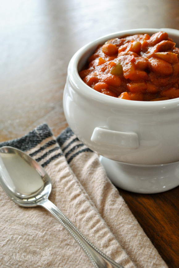 Easy Baked Beans Mediterranean Baby (14)