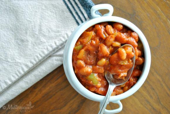 Easy Baked Beans Mediterranean Baby (25)