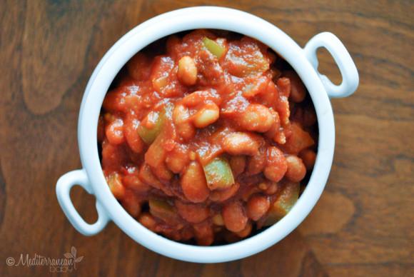 Easy Baked Beans Mediterranean Baby (5)