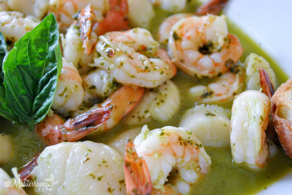 Pesto Scallops and Shrimp Mediterranean Baby (19)