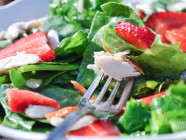 Strawberry-Baby-Greens-Salad-with-Agave-Cilantro-Dressing-Mediterranean-Baby