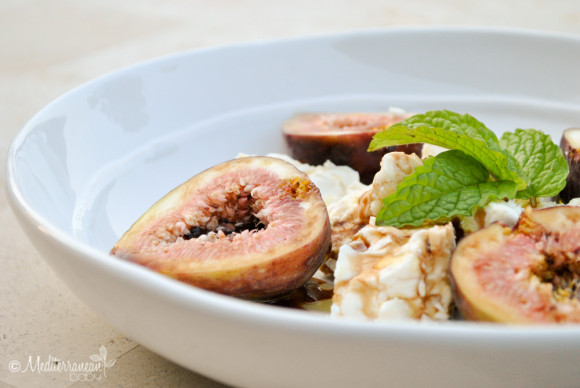 Fig Feta and Mint Salad Mediterranean Baby-15