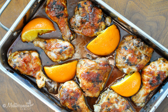 Orange Honey Bar BQ Chicken Mediterranean Baby-5