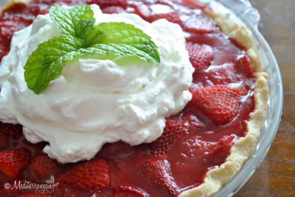 Strawberry Pie By Mediterranean Babymediterranean Baby Motherhood Life Food And More