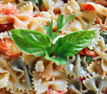 Summer Garden Pasta by Mediterranean Baby-3