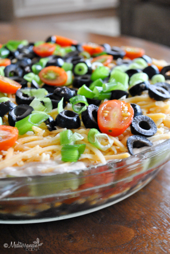 Reduced Fat Taco Dip-2