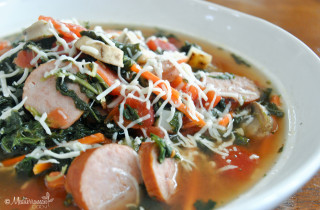 Hearty Tuscan Slow Cooker Soup by Mediterranean Baby with Hamilton Beach-2