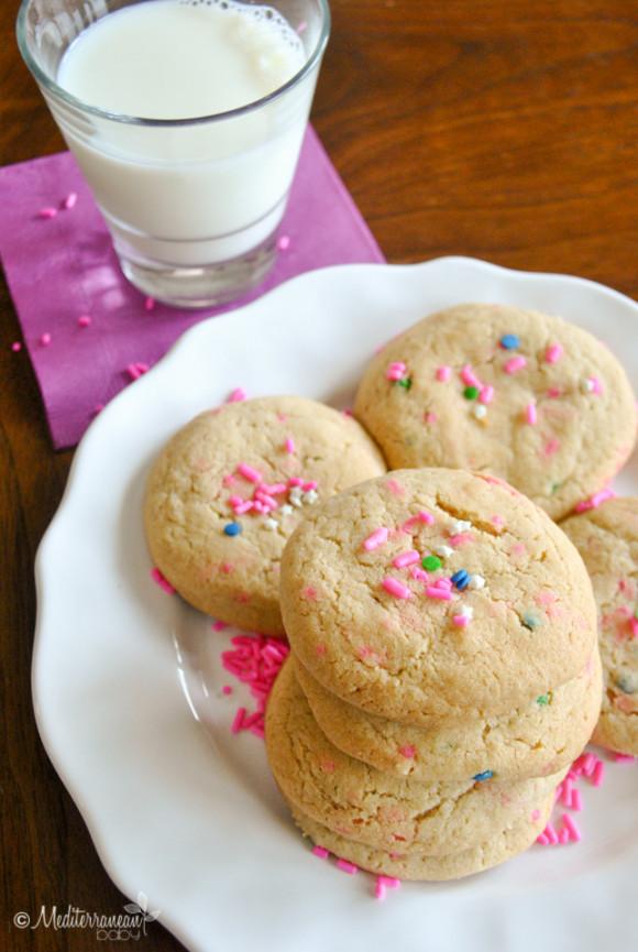 Rainbow Sprinkle Cookies by Mediterranean Baby (2 of 4)