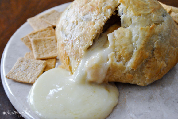 Apple Butter Baked Brie Puff Pastry by Mediterranean Baby-8