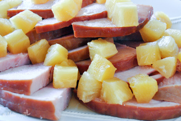 Pineapple Ham by Mediterranean Baby with Hamilton Beach-3