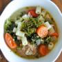 Rustic Super Soup mediterranean baby