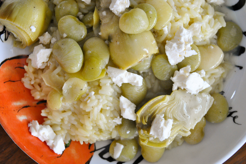 lima beans and artichoke mediterranean baby-4