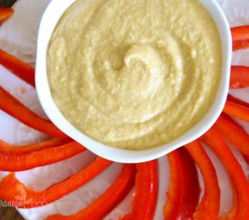 5 minute Hummus Mediterranean Baby