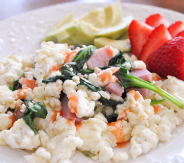 egg white scramble mediterranean baby-2